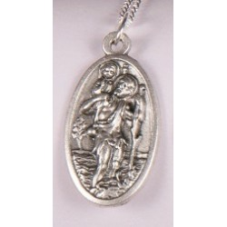 St Christopher Pendant. 770/6P