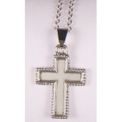 Mother of Pearl shell cross...