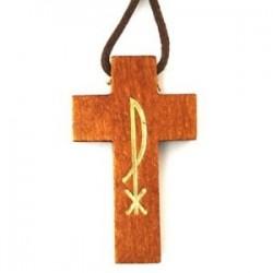 Wood Pax Pendant. 10/280.