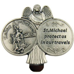 St. Michael Car Visor. 10/287.