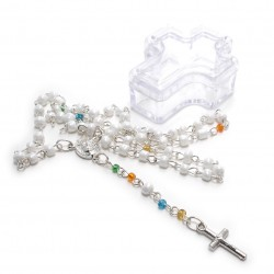Mini Rosary in Cross Gift...