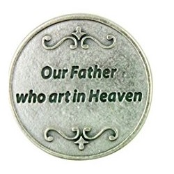 Our Father Prayer Token....