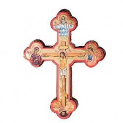10 cms Icon Crucifix. 34/271.