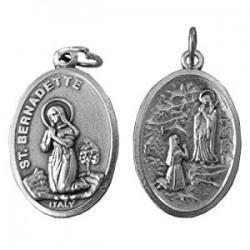 St. Bernadette Medal. 674/6.