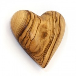 Olive Wood Love Heart. 74/292.