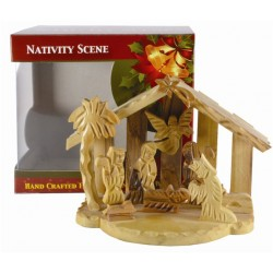 Olive Wood Nativity Set....