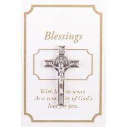 St Benedict Lapel Brooch....