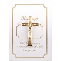 Crucifix Lapel Brooch. 67/87.