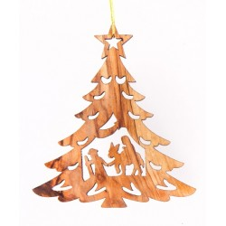 8cms Olive Wood Nativity....