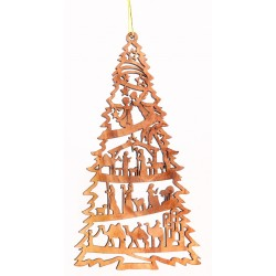 12cms Olive Wood Nativity....