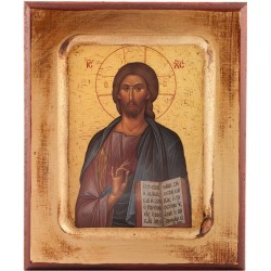 Wood Icon of Jesus Christ