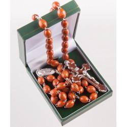 Brown Wood  Rosary Bead....