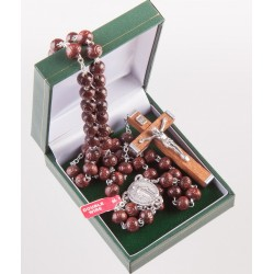 Wood Double Wired Rosary....