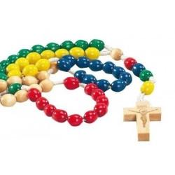 Wood Missionary Rosary...