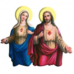 Our Lady/Christ Magnetic...