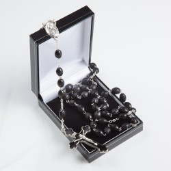 Black Wood  Rosary Bead....