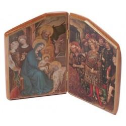 Wood Icon Old Master Nativity Scene