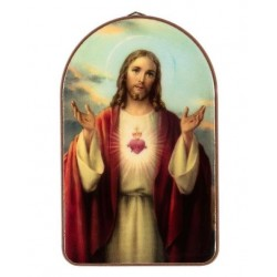 Sacred Heart Religious Wall Plaque