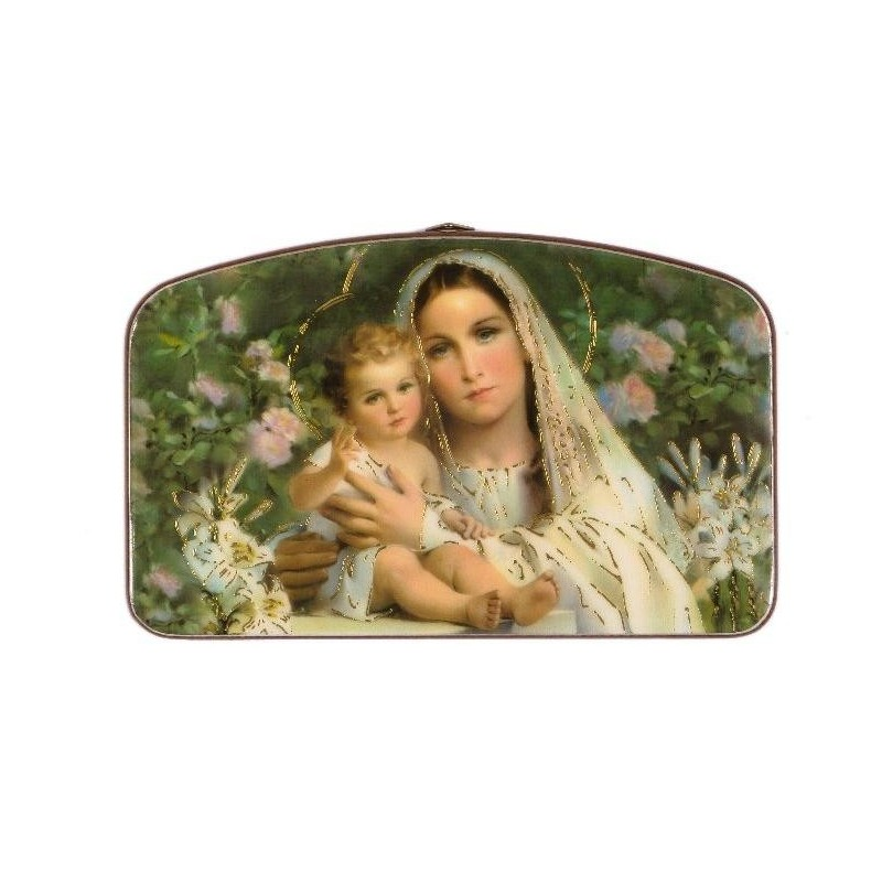 Our Lady and Child Religious Wall Plaque