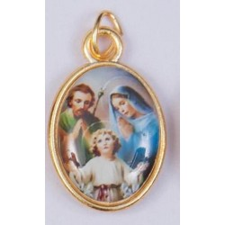 Colour Holy Family Medal