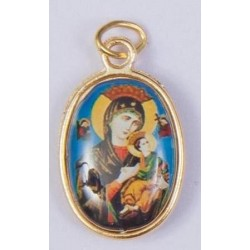 Colour Our Lady of Perpetual Succour Medal