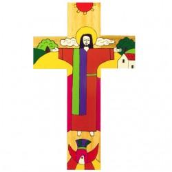 10 cm Risen Christ Crucifix
