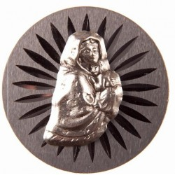 Our Lady magnetic car plaque