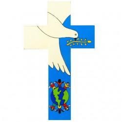 12 cm Dove of Peace Cross