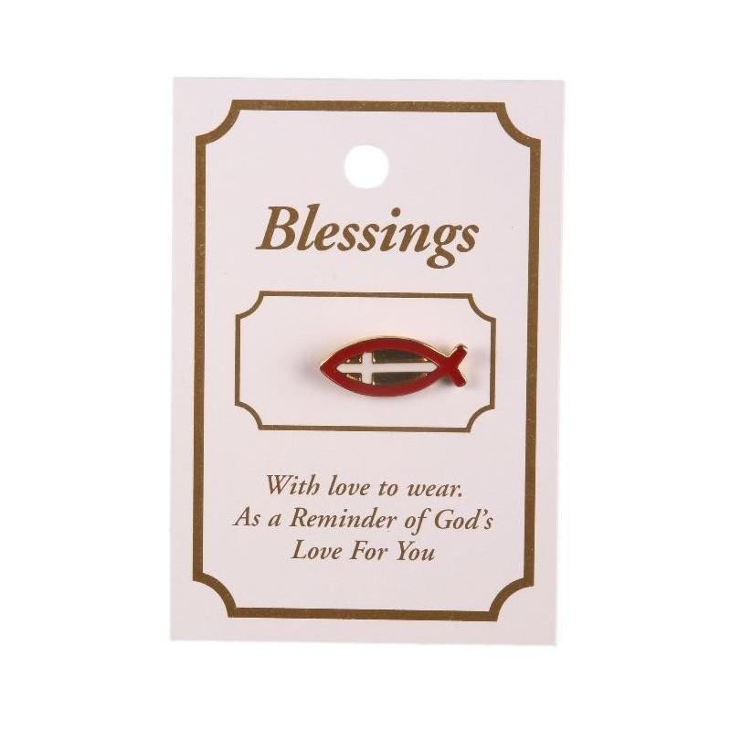 Fish Lapel Brooch