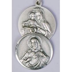 20mm Sterling Silver Scapular Medal
