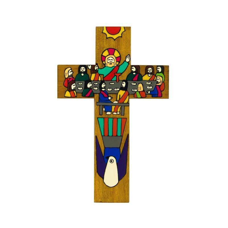 15 cm Last Supper Cross
