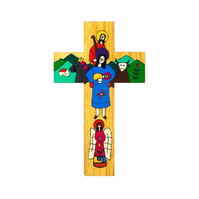 15cm Holy Family Cross