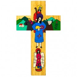 25cm Holy Family Cross