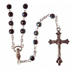 Blue Crystal Rosary.