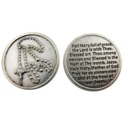 Hail Mary Prayer Token