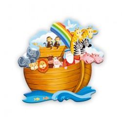 Noah's Ark Magnetic Plaque