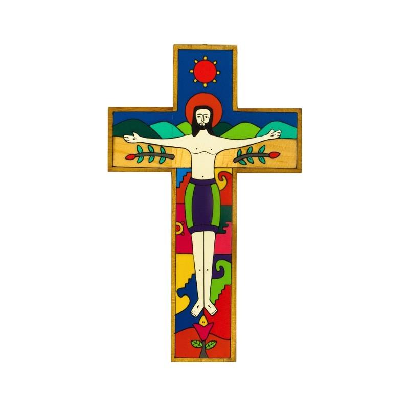 63 cm Crucified Christ Cross