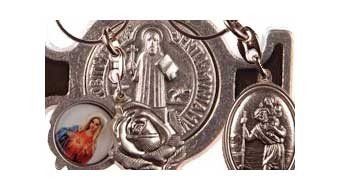 Catholic and Christian Keyrings of the Saints