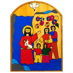 Baptism Wall Plaque