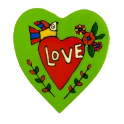 Heart of Love wall plaque