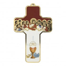 13cm Last Supper Cross. 10/70.
