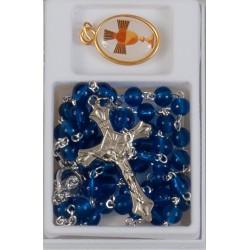 Blue Holy Communion Rosary...