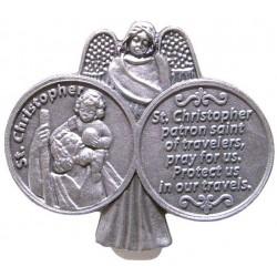 St. Christopher Car Visor....