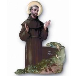 St Francis Magnetic Plaque