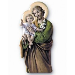 St Joseph Magnetic Plaque
