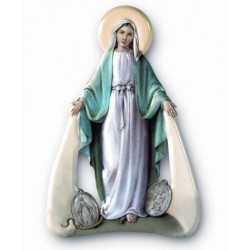 Our Lady Miraculous Magnetic Plaque