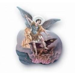 St Michael Magnetic Plaque
