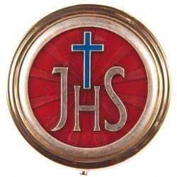 Jesus Saviour of Men (IHS) Holy Communion Pyx