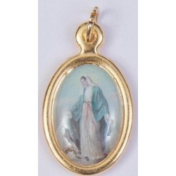 Colour Miraculous Medal