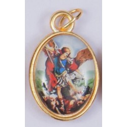 Colour Saint Michael Medal
